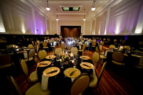 Grand Ballroom by Jerome Tso Photography